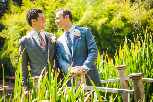 gay wedding couple dunsmuir estate