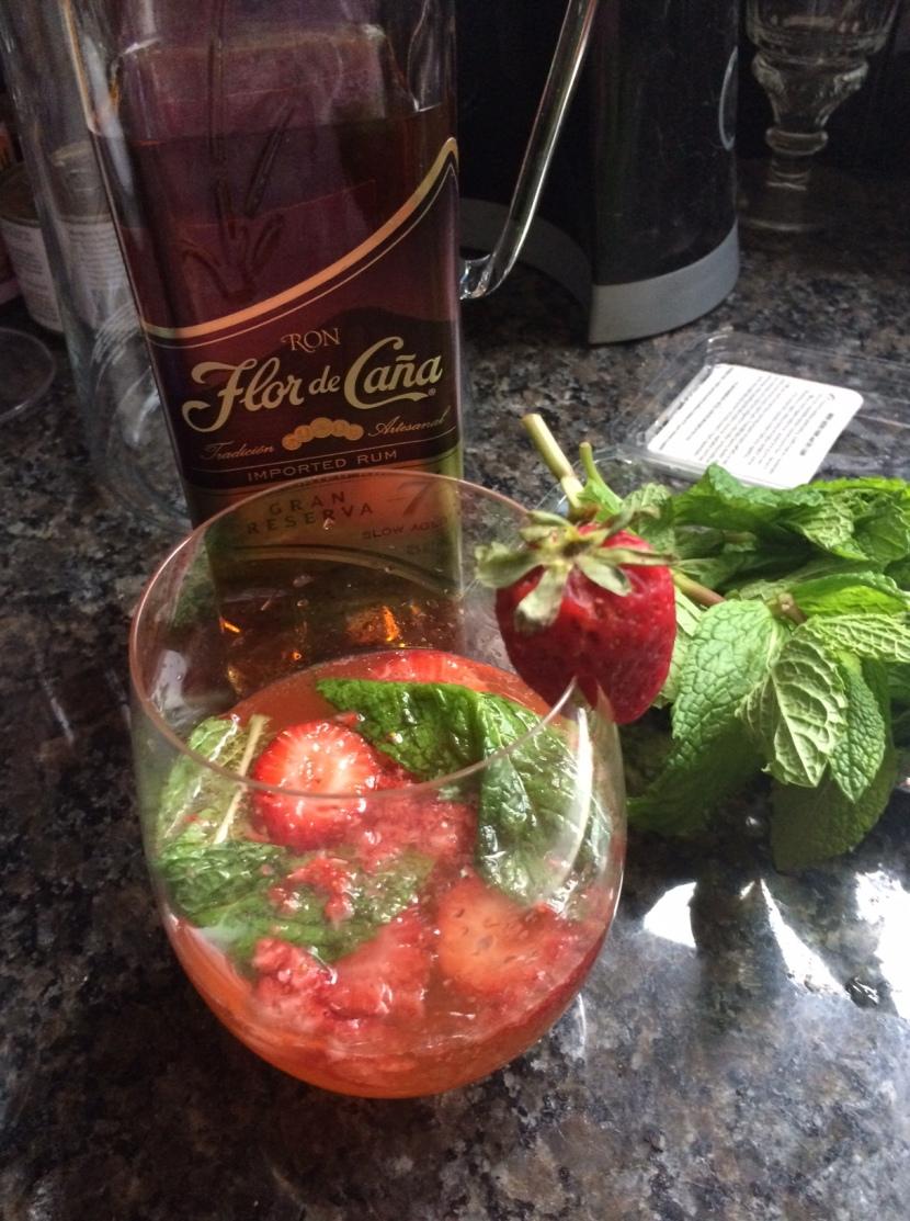 Signature Cocktail: StrawberryMojito